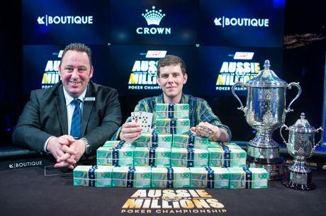 PokerNews Boulevard - Aussie Millions gaat verder als eigen event, Drinan wint in Barcelona