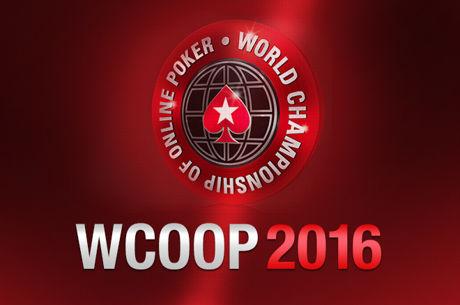 WCOOP 2016: 4 a 26 de Setembro na PokerStars, +$50M GTD