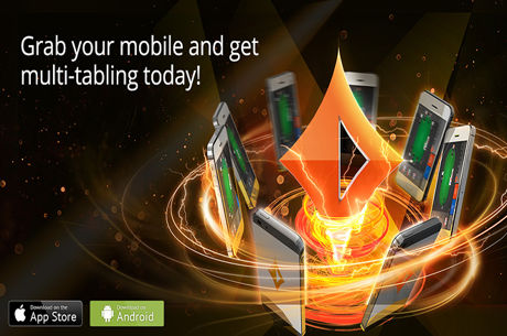 New partypoker Mobile App Offers Multi-Table Option
