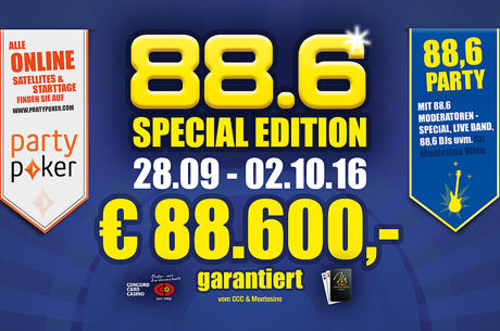 88.6 Poker Weekend Spezial im Montesino
