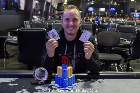 Marc-Etienne McLaughlin Wins World Cup of Cards $5,000 8-Max for $76,380