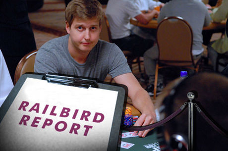 "The Railbird Report: The Saga Continues; Erik ""Erik123"" Sagström Returns"
