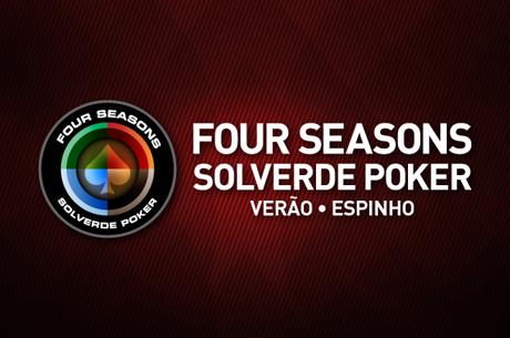 Four Seasons Solverde Poker Verão: Último Torneio (17) e Finalíssima (18) este Fim de Semana