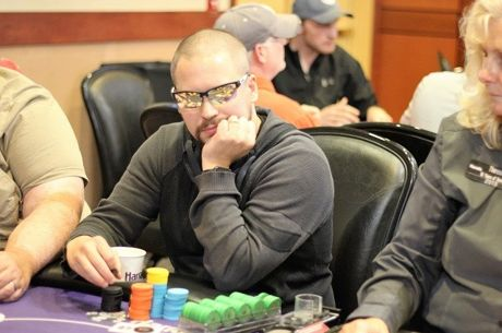 RunGood Poker Series Harrah's North Kansas City: Jonathan Nye Leads, 16 Survivors from Day 1A