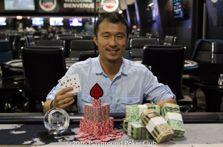 Jiachen Gong Ends Playground Poker's World Cup of Cards in Style; Wins the Quantum Tournament...