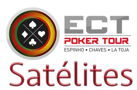 Satélites Etapa #3 ECT Poker Tour Hoje à Noite em Espinho e Chaves