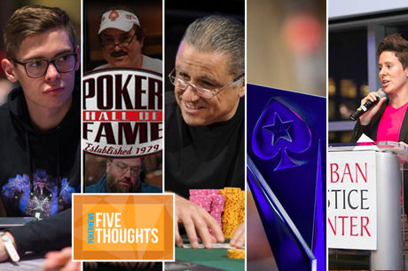Five Thoughts: Fair Warning, Hall of Fame Hilarity, and Super High Roller Disappointment