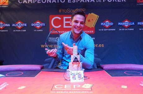 Steve Enríquez se lleva la cuarta parada del Campeonato de España de Poker 2016 por 30.000€