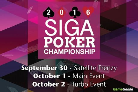 SIGA Poker Championship Returns to Dakota Dunes Casino October 1 & 2