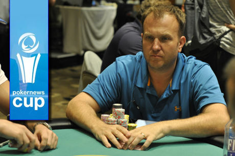 Dominic Picinic Leads After Day 1 of the PokerNews Cup at Borgata