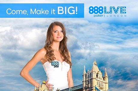 888Live Poker im Oktober in London