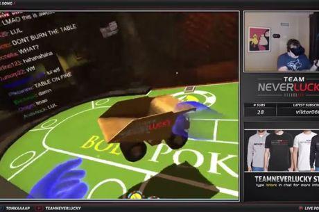 Twitch : Tonkaaaap joue au poker en réalité virtuelle