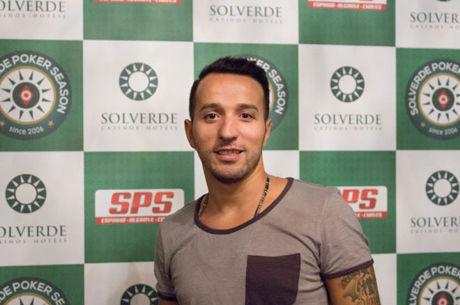 Hugo Silva Chip Leader do Espinho Poker Fest com 16 em Prova