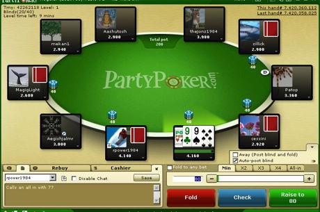 """""""PartyPoker"""" ruošia permainas grynųjų pinigų žaidimų mėgėjams"""