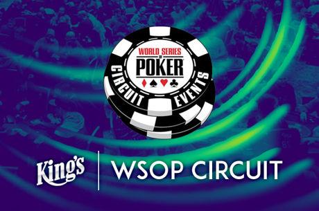 14 Ringe warten beim 2016 WSOP Circuit im King's Casino