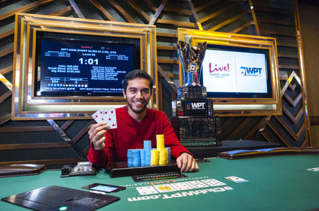 Out of Nowhere: Zachary Smiley Wins WPT Maryland Live! ($356,536)