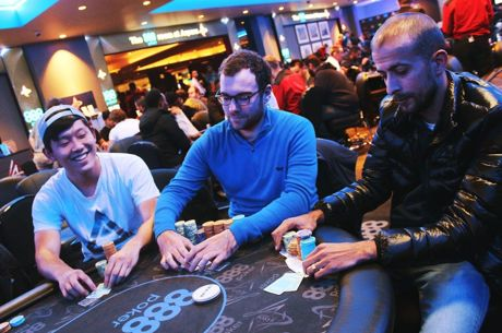 888Live London Poker Festival: Mitchell Makes Hay on Day 1b of Opening Event