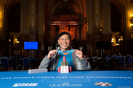 Paul Phua Wins the €100,000 Re-entry at the Monte-Carlo One Drop Extravaganza (€752,700)