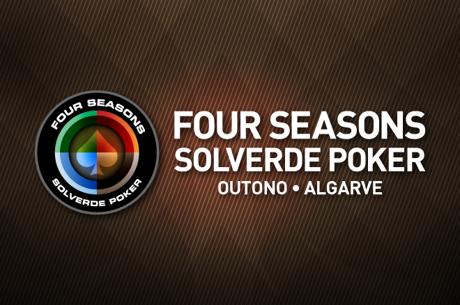 Calendário Four Seasons Solverde Poker Outono no Algarve
