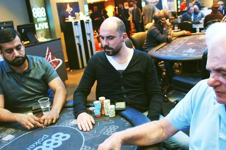 888Live Poker Festival London £2,000 High Roller: Le Goff Leads, Moorman, Esfandiari and...