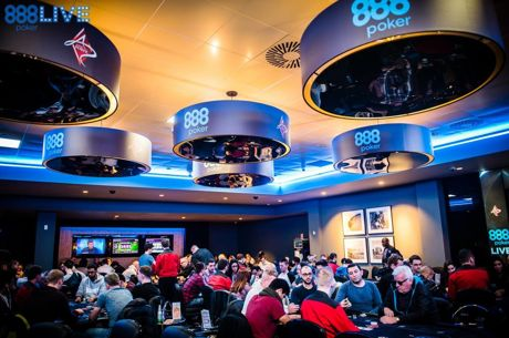 888Poker London Live Main Event: Aleksandar Kacharov Tops a Stacked Day 1b Field
