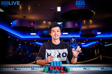 Ka Him Li Wins 888live Poker Festival London Main Event for £45,300!