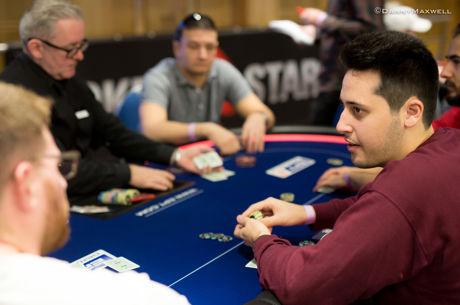Adrián Mateos se cuela en el Día 2 tras un duro Día 1a del Main Event del PokerStars EPT...