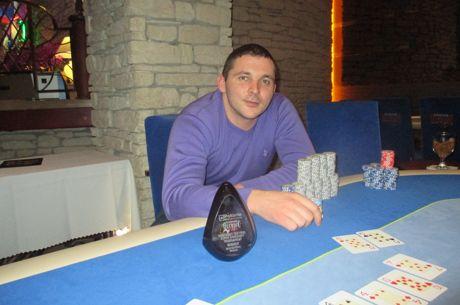 """Paskutinį šalutinį """"Knockout Festival"""" turnyrą nugriovė Jaroslav Sušinskij"""