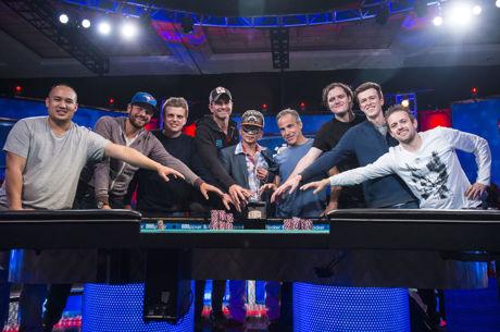 """WSOP """"Lapkričio devynetukas"""": pirmąją finalo dieną išgyveno 5 žaidėjai"""