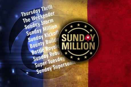 Rezultate online romanesti mari, incununate de o masa finala Sunday Million