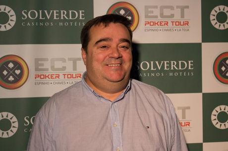 Juan Grandal Lidera Main Event ECT Poker Tour; 12 em Jogo