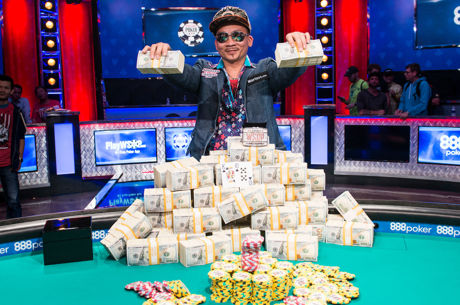 Qui Nguyen Wins 2016 World Series of Poker Main Event for $8 Million!