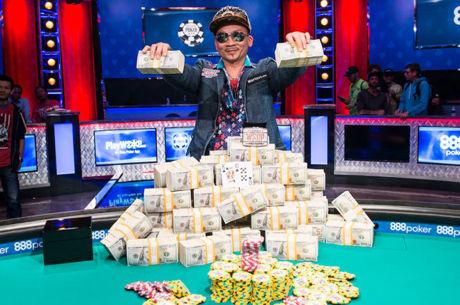 2016 metų Pasaulio Pokerio čempionas - Qui Nguyenas!