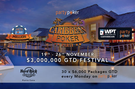Partypoker Celebrates Dusk Til Dawn Anniversary with 30 Caribbean Poker Party Packages
