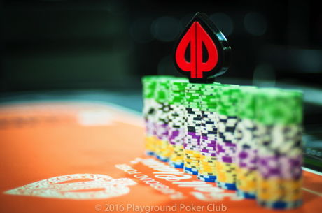 Fadi Haddad Takes Chip Lead into Day 2 of The Wild $150 at the Playground Poker Club Fall...