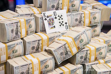 O Maior Vencedor do Main Event WSOP 2016 foi o IRS ($8.108.024)