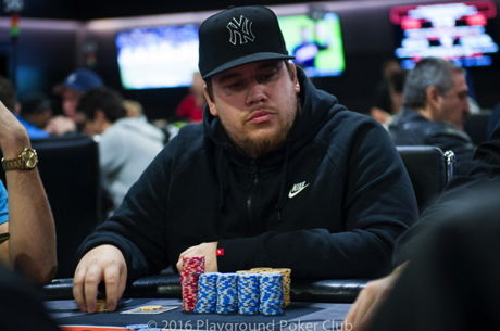 Sebastian Proulx Leads Final 27 in The Wild $150 at the Playground Poker Fall Classic