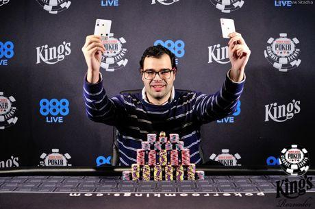 Paul Lozano consigue un anillo de las WSOP ganando el Monster Stack de 550€