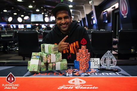 Daune Fernandez and Karam Saleh Win Titles; Jason Conforti Leads Event #5 at the Playground...