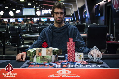 Lukas Soucek, Jean-Philippe Piquette Win Big at the 2016 Playground Poker Fall Classic