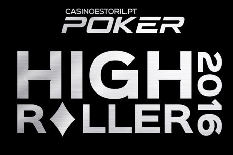Luis Dono Comanda com 13 em Jogo no High Roller Casino Estoril 2016