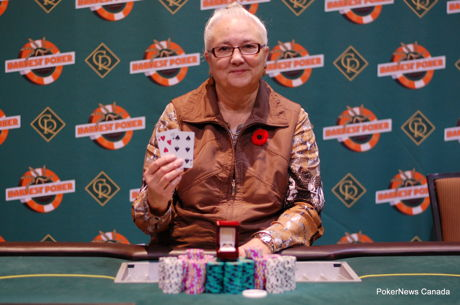 Ladies Top Second Event of Harvest Poker Classic