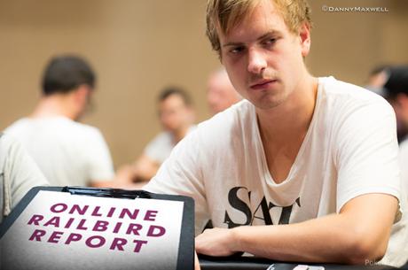 Railbird Report: Viktor Blom Foi o Maior Vencedor da Semana (+$150k)