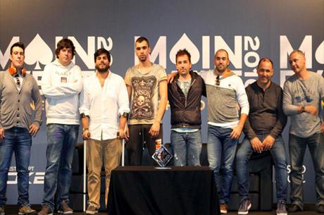 Pedro Oliveira Lidera Mesa Final ME Casino Estoril 2016