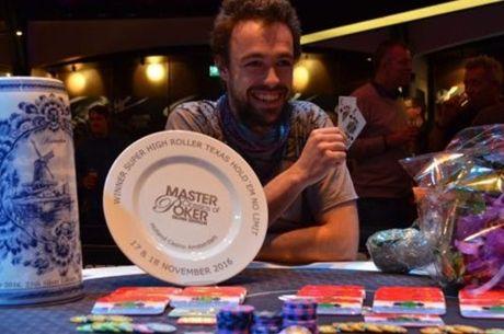 Vokietijos pokerio pirmūnas Ole Schemionas iškovojo dar vieną solidžią pergalę