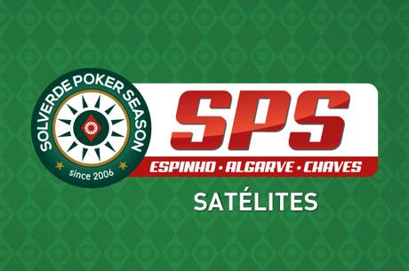 Satélites Etapa #13 Solverde Poker Season Hoje às 20:00 em Chaves e Espinho