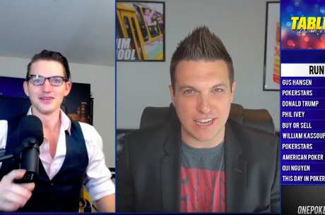 Se estrena TABLE TALK con Joey Ingram y Doug Polk