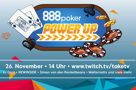 "Neues Format ""888poker Power Up"" bittet Web-Stars an den Pokertisch"