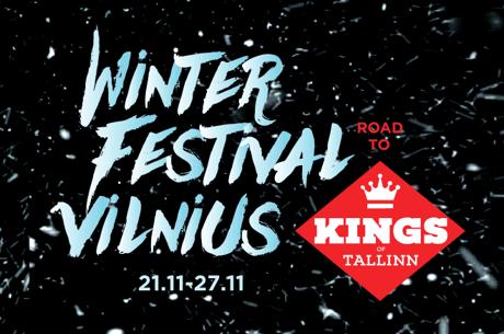 """""""Winter Festival"""" pagrindinio turnyro prizininkai išsidalins 27,000 eurų"""