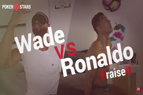 Dwyane Wade vs. Cristiano Ronaldo Wake-Up Challenge #RaiseIt